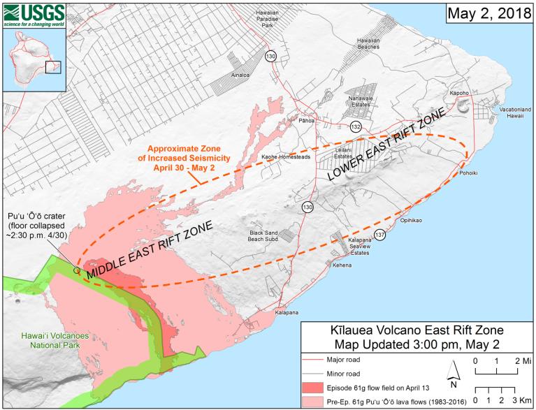 180503-Kilauae Volcano East Rift Zone